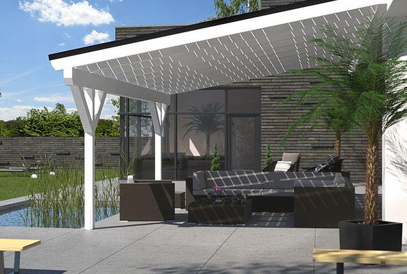 terrassenüberdachung ferienhaus